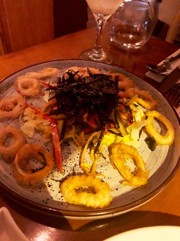 11 Calamari salad